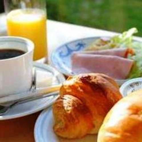 朝食(洋食盛り付けイメージ)