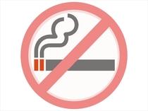室内はテラスを含め禁煙でございます。
