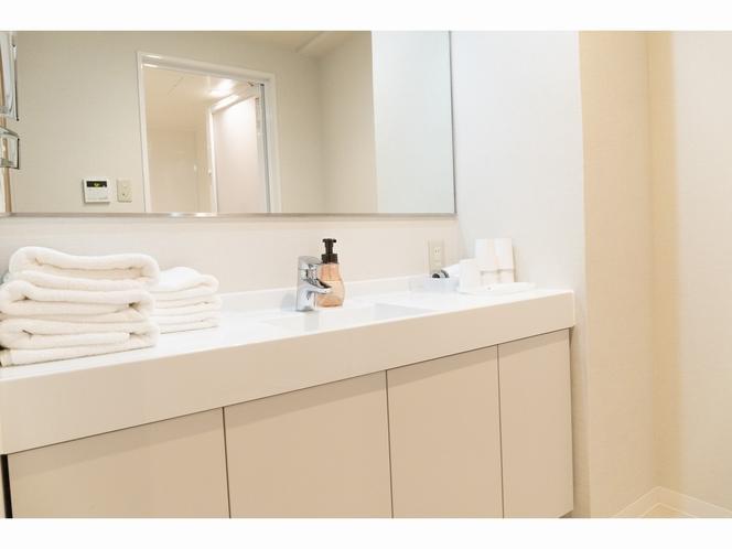 水回り付き個室 専用洗面台