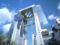 グランフロント・ルクア・スカイビル・大阪天満宮・中央公会堂・国立美術館など