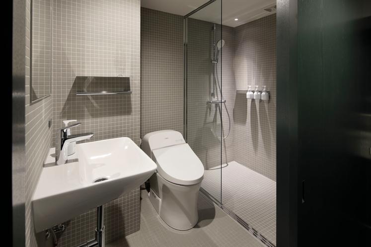 ミニマルダブル バスルーム