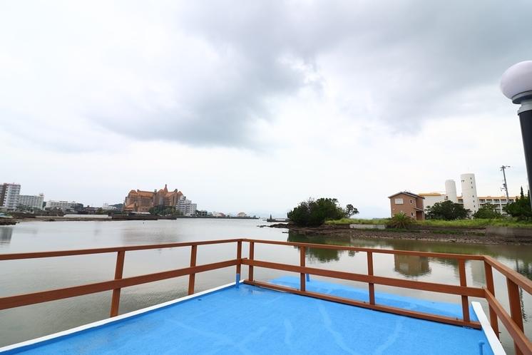 桟橋からの風景