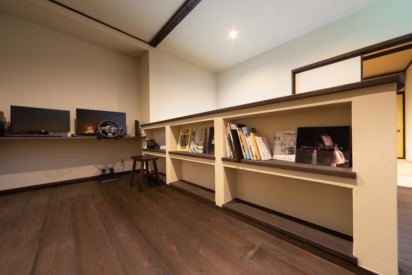 2階ライブラリー
