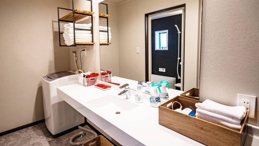 ・101~110号室 洗面所
