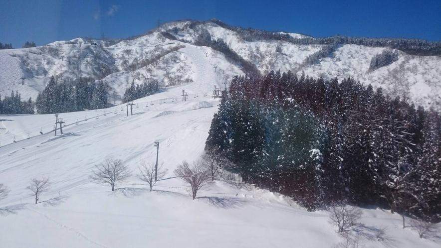 お部屋からの眺望 冬 スキーシーズン