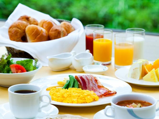NASPA越後湯沢のじょんのび朝食