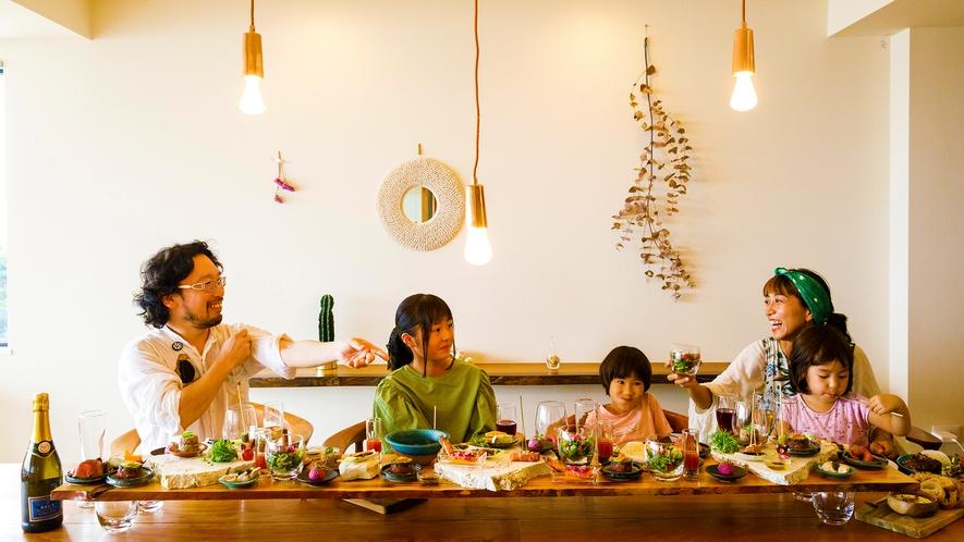 【沖縄ケータリングプラン】お食事イメージ。