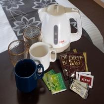お茶、コーヒー