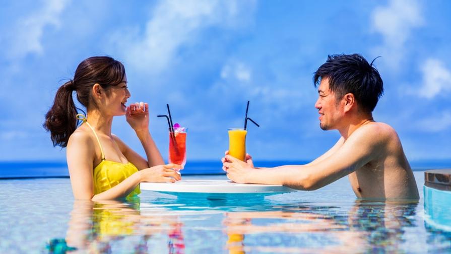 【さき楽21-朝食付き】早期予約で沖縄を満喫! 朝食はレストランorプール?お部屋お持ち帰りもOK♪