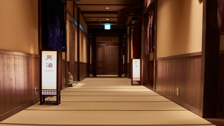 6階 大浴場奥に貸切風呂がございます。