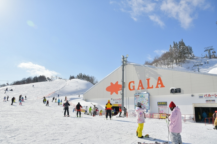 GALA湯沢スキー場(当館から車で約5分)
