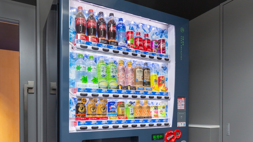 自動販売機(5F,10F,15F共有スペース)