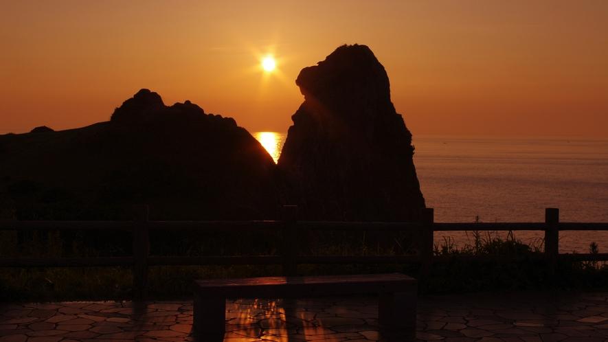 *【観光】猿岩と夕日