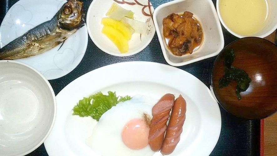 【朝食】毎朝手作りの朝食をご用意致します。