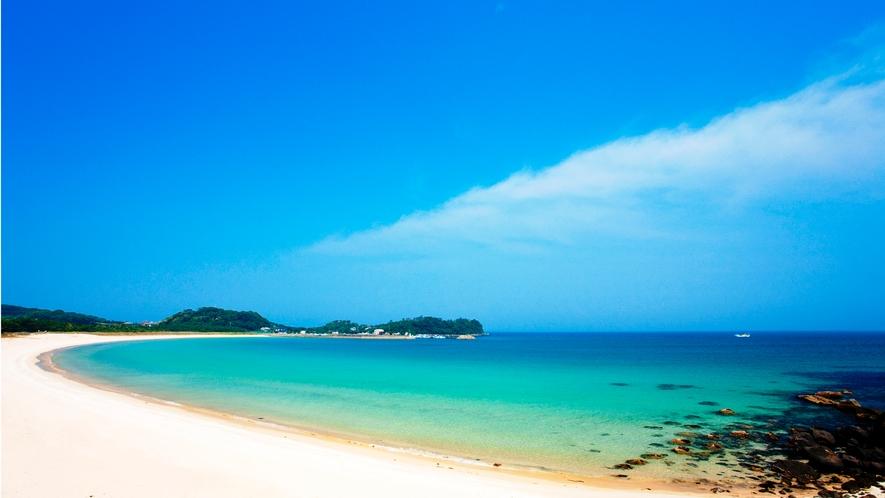 *【観光】筒城浜海水浴場