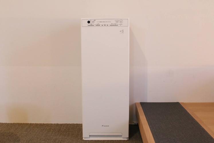 客室空気清浄機(加湿機能付き)