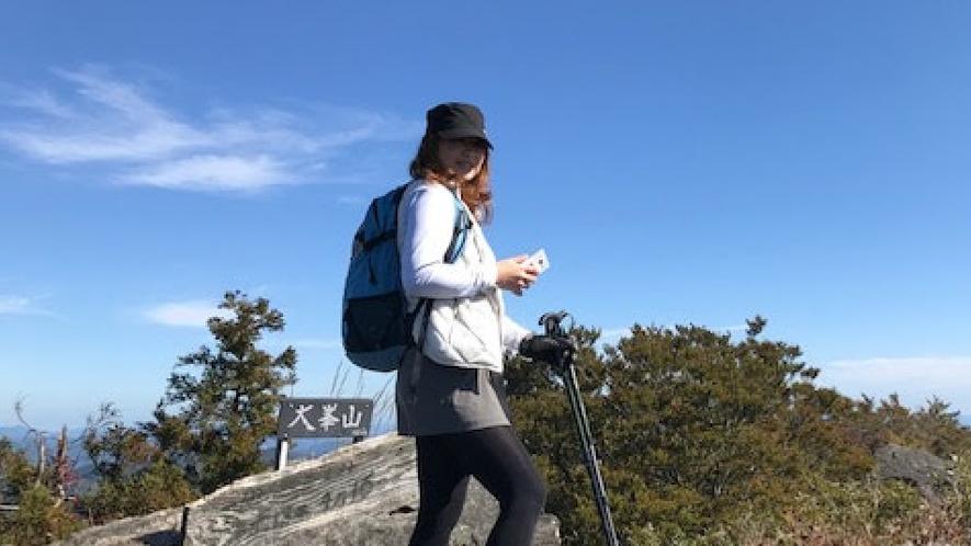 山頂からの眺めは最高