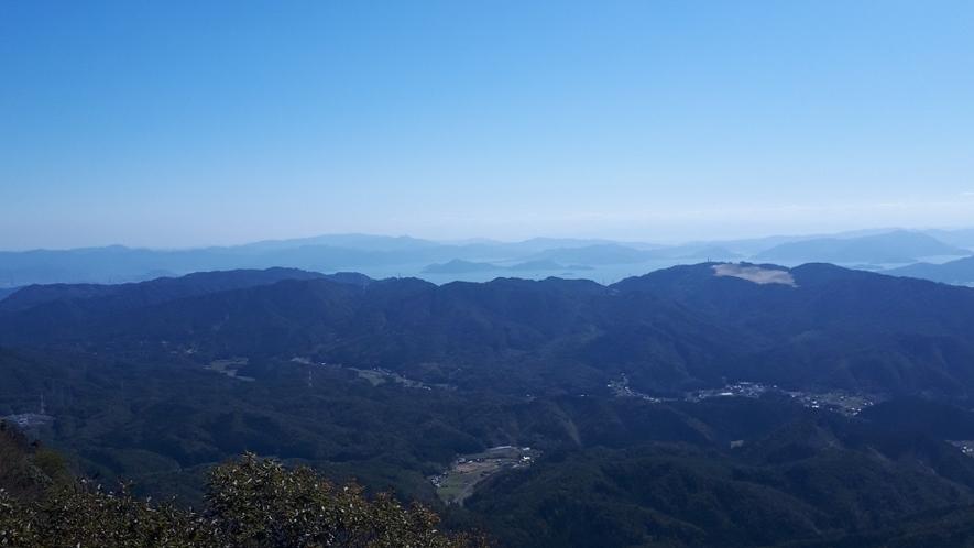 大峯山からの眺望