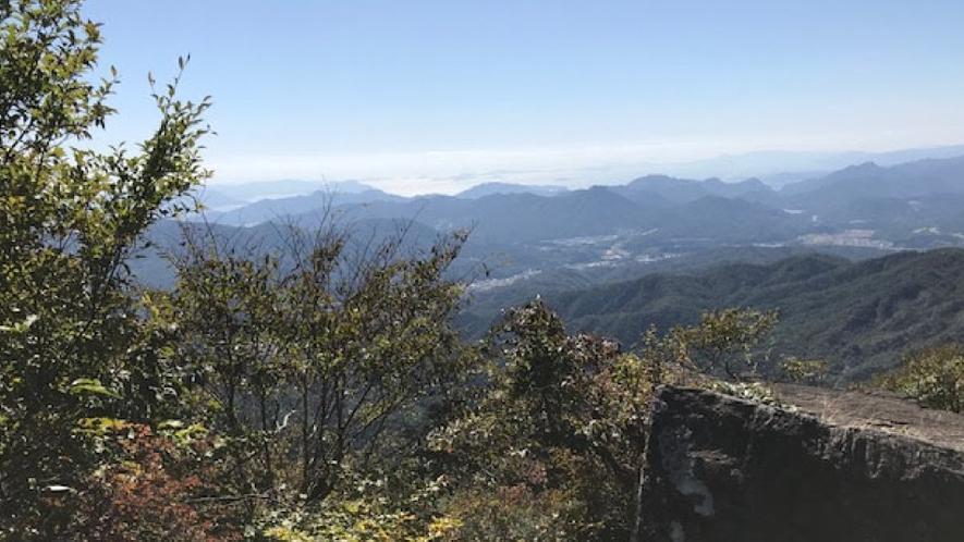 大峯山山頂