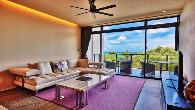 【期間限定】2ベッドルームの贅沢空間。海が見えるテラスで非日常をお楽しみください【素泊まり】