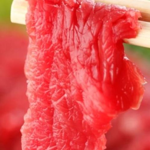 会津の郷土料理 馬刺し