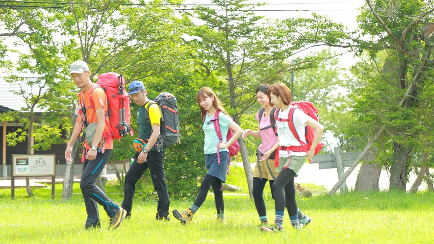 【ネイチャーウォーク】安達太良高原をネイチャーガイドと共に歩くネイチャーウォーク
