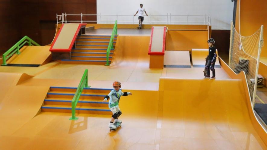 【スカイピアあだたらアクティビティパーク/SAAP】キッズも夢中!スケートボードセクション☆