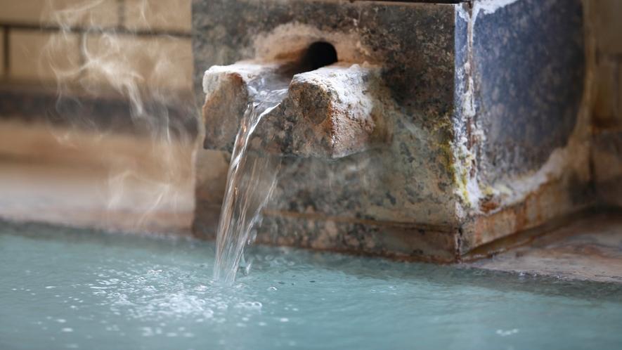 【温泉】100%源泉かけ流しの濃い温泉にたっぷりとお入りください♪