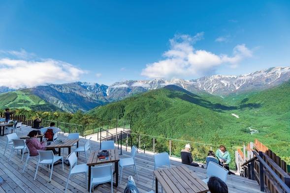 """絶景が望める標高1,289mの岩岳山頂「森のオフィス」で""""リゾートテレワーク""""プラン"""