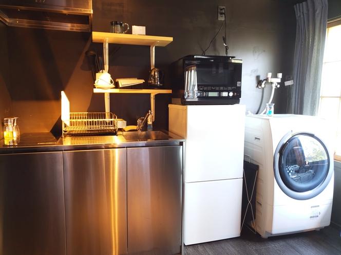 全室共通設備 キッチン・洗濯乾燥機