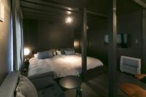 1DKアパートメント ベッド