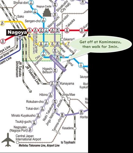 名古屋路線図