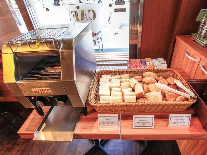 ◆朝食◆ビュッフェ形式でお好みでお選びいただけます!!