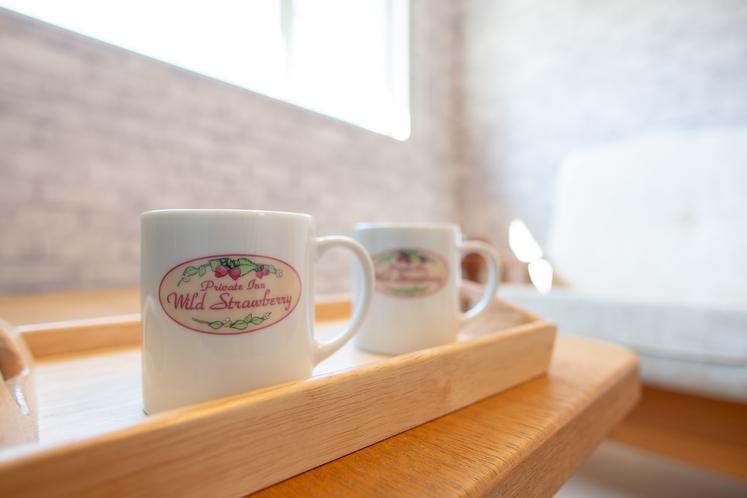 コーヒー・緑茶のお茶セットをご用意