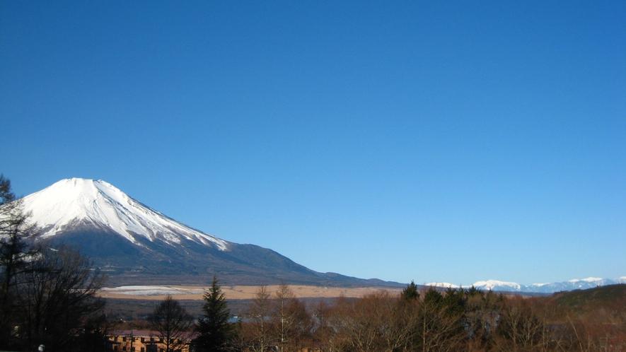 2階からの南アルプスと富士山!