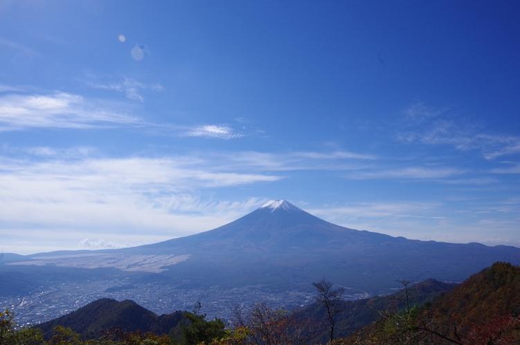 三ツ峠からの富士山