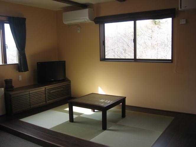 和モダンルームの畳スペース