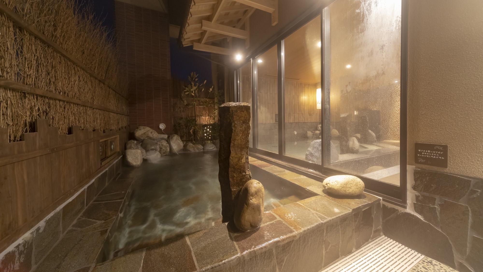 ■女性大浴場 露天風呂 41〜43℃