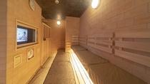 ■男性大浴場 高温サウナ TV付 96℃ 定員9名 (深夜1:00~5:00は休止)