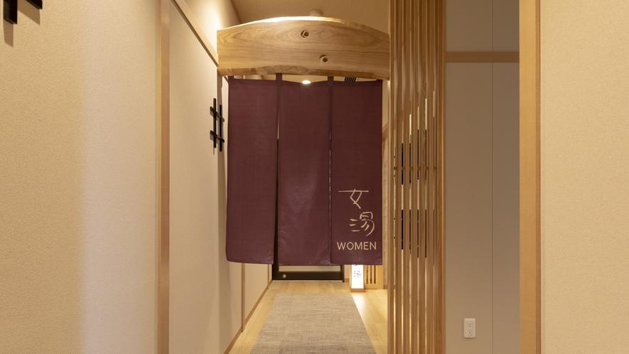 ■女性大浴場 入口