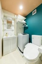 脱衣・洗面室(洗濯機付き)