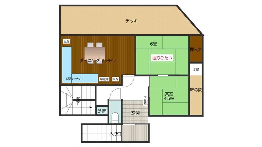 ・2階館内図