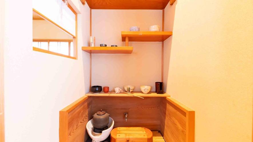 ・【2階】茶室も完備いたしております