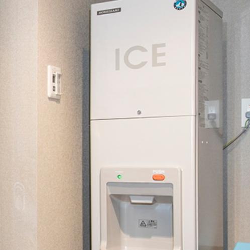 製氷機 無料でご利用頂けます