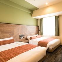 21㎡ ベッド幅120㎝ お風呂・トイレ別