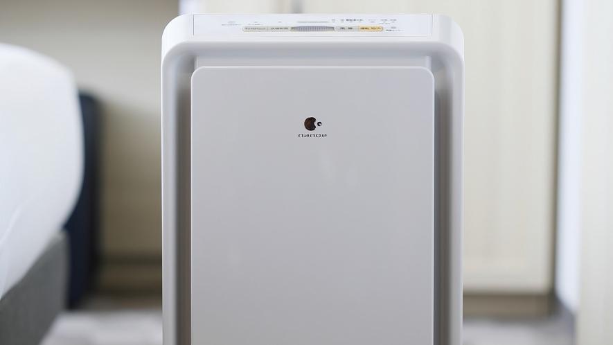 マイナスイオン加湿空気清浄機(客室備品)