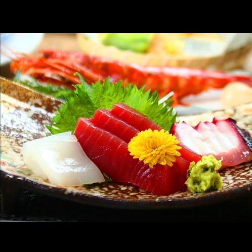 ■【夕食】刺身