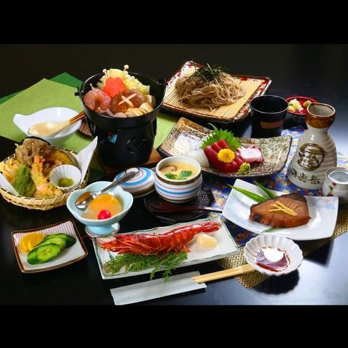 ■【夕食】旬味覚を楽しむ夕食