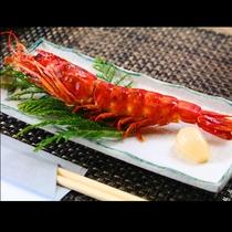 ■【夕食】焼海老