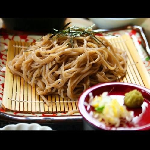 ■【夕食】信州蕎麦